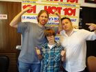 Justin Bieber at Hot 101 in Youngstown