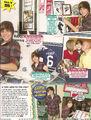 M magazine January February 2010 Justin at home 2