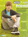 Twist February 2010 Justin Exclusive