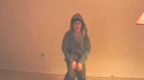 "Justin Bieber Dancing to ""Yo"" by Chris Brown"