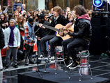 Justin Bieber Performs on The Today Show, October 2009