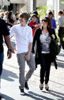 Justin Bieber Spends Mother's Day 2010