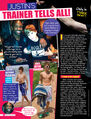 Tiger Beat August 2011 Justin's trainer