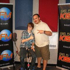KISS FM Program Director Bo Matthews.