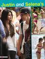 Tiger Beat September 2011 Justin and Selena
