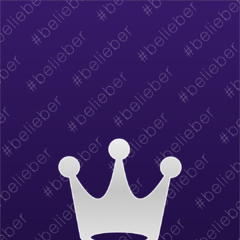 Belieber silver wallpaper in Fahlo's store for 30.000 coins
