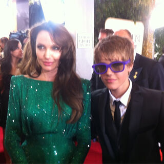 Angelina Jolie and Justin