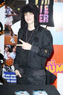 Justin Bieber meets fans at Citadium Store in France