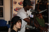 Justin Bieber and Usher on The Bert Show