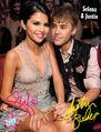 Tiger Beat December 2011 Selena & Justin poster