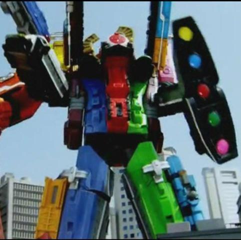 Super God Robo Pole SD