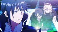 Fushimi is rescued by Douhan and broguth back to Reisi