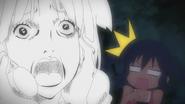 Mio get scared