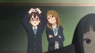 Nodoka and Himeko in the movie