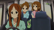 Sawako's car