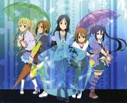 HTT with umbrellas