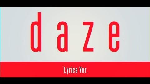 【MV】daze【Lyrics Ver