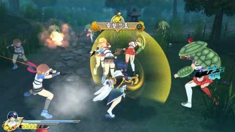 PS4 60FPS『閃乱カグラ ESTIVAL VERSUS -少女達の選択-』Yozakura gameplay(All Ninpos)