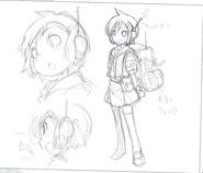 Hibari Concept Art (Prototype) 1