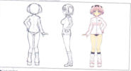Hibari Concept Art (Body)