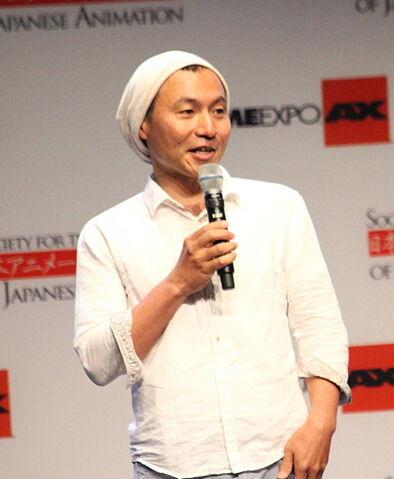 File:Masaaki Yuasa at Anime Expo 2013.jpg