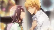 Misaki urging Takumi