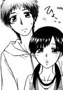 Hinata with Suzuna