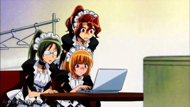 File:Maids watching the laptop.jpg