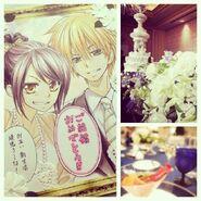 Misaki and Usui wedding