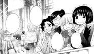 Maid latte employees in the manga