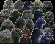 ALL GODZILLAS