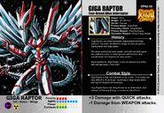 Giga Raptor EVO