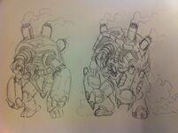 Chelonra sketch 2
