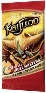 Rise of the Duel Masters booster pack