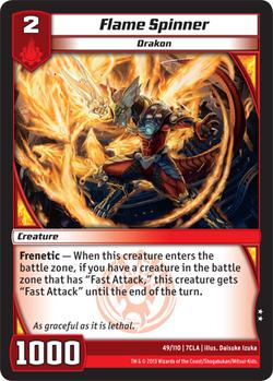 Flame Spinner (7CLA)