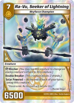 Ra-Vu, Seeker of Lightning (3RIS)