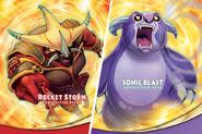 Rocket Storm + Sonic Blast