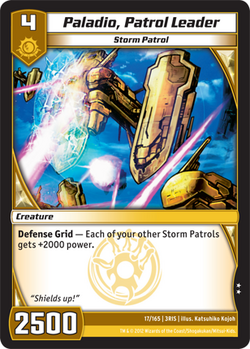 Paladio, Patrol Leader (3RIS)