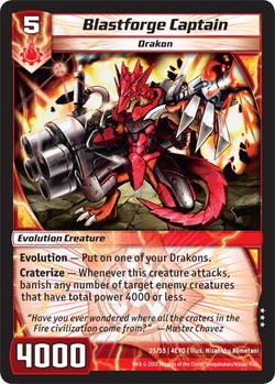 Blastforge Captain (4EVO)