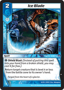Ice Blade (2DED)