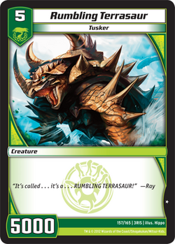 Rumbling Terrasaur (3RIS)