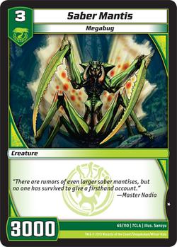 Saber Mantis (7CLA)