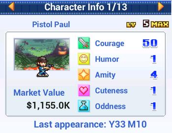 Character Info - Anime Studio Story
