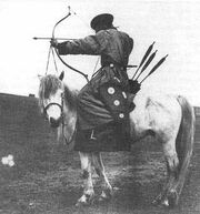 Manchu Horseback