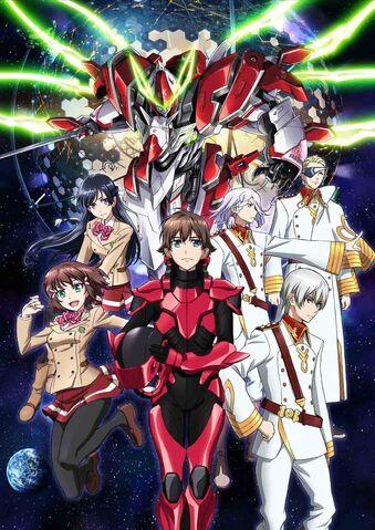 File:Kakumeiki Valvrave promotional poster Season 1.jpg