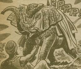 Elefante de Radamés Cara