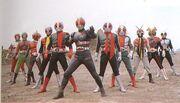 11 Kamen Riders (1-Black)