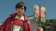 Hideyoshi with fan