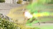 Omega Formation (Robin Hood and Goemon) (Step 1 - Arrow Blast)