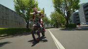 Kaito's personal bike